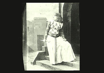 Sarah Bernhardt dans 'Macbeth'