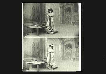 Sarah Bernhardt dans 'La Tosca'