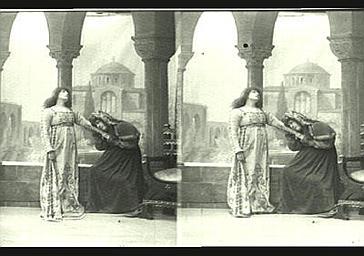 Sarah Bernhardt dans 'Gismonda'