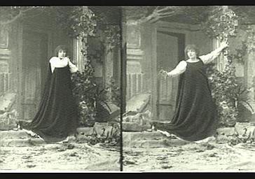 Sarah Bernhardt : Gismonda dans 'Gismonda', drame de Victorien Sardou