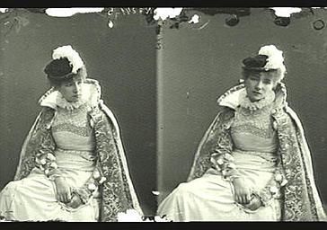 Sarah Bernhardt dans 'Hernani'