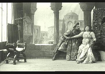 Deval : Zaccaria, Sarah Bernhardt : Gismonda dans 'Gismonda', drame de Victorien Sardou