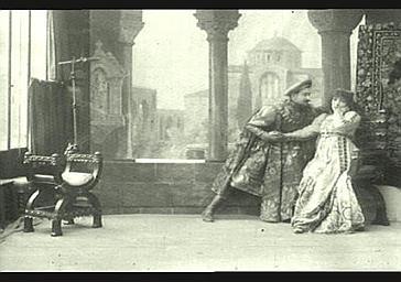 Abel Deval et Sarah Bernhardt dans 'Gismonda'