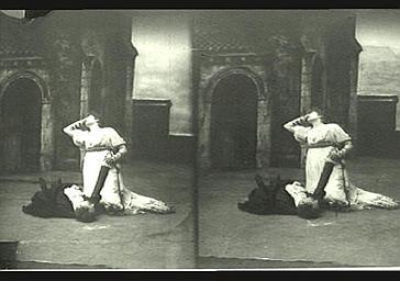 Sarah Bernhardt : Tosca dans 'La Tosca', drame de Victorien Sardou