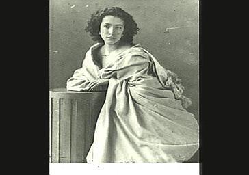 Sarah Bernhardt à ses débuts