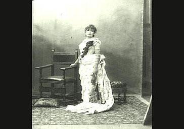 Sarah Bernhardt dans 'Fédora'