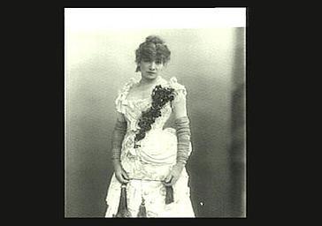 Sarah Bernhardt : Fédora dans  Fédora, drame de Victorien Sardou