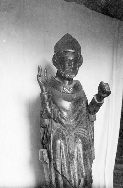 Statue-reliquaire : saint Martin