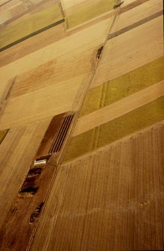 Vieille voie vers Thénezay; tracés de fossés latéraux inabituels