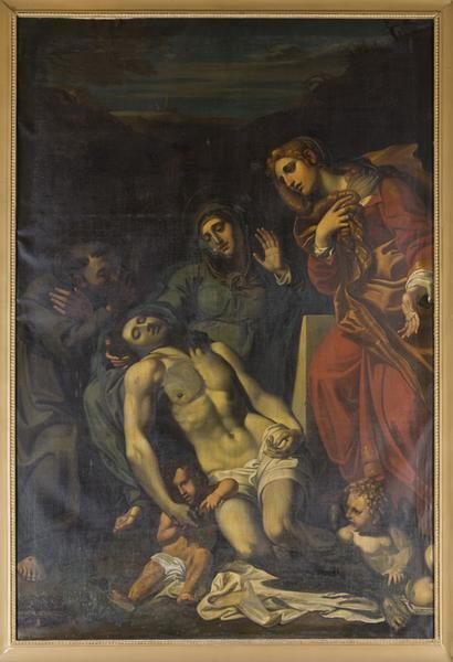Tableau de la Vierge de Pitié