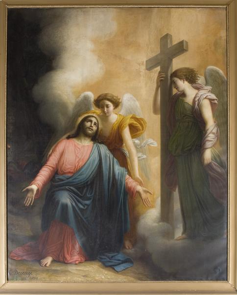 tableau du Christ au jardin des Oliviers