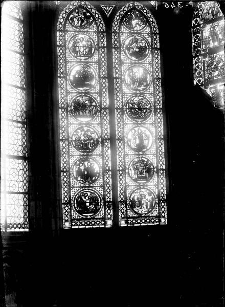 Verrière : La Vie de saint Savinien, La Vie de saint Eustache