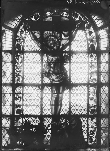 4 roses : Saint Pierre, Saint Paul, Saint Savinien, Calvaire