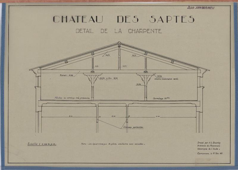 Château des Saptes