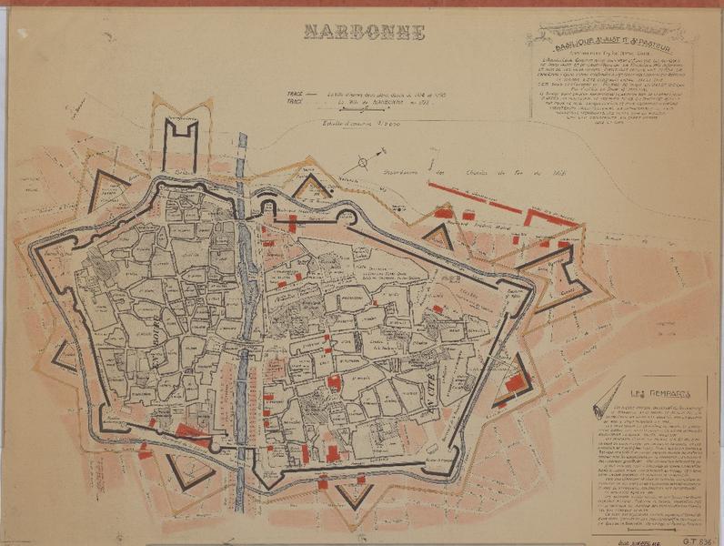 ville ; fortification d'agglomération
