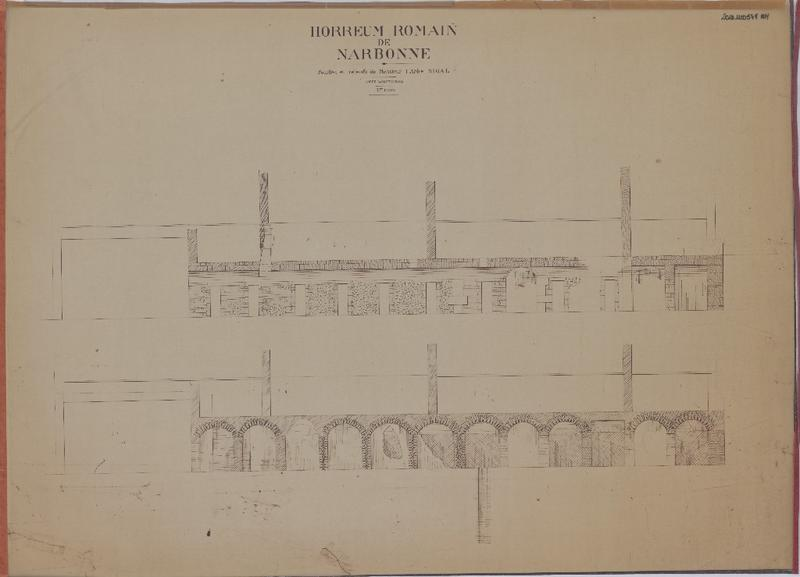 édifice romain dit Horreum
