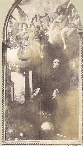 tableau : saint Nicolas de Tolentino