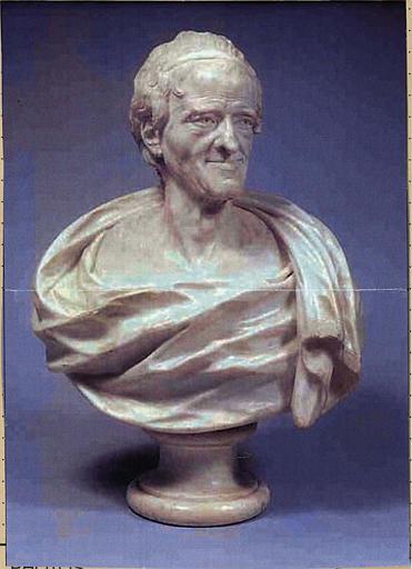 Buste de Voltaire âgé, dit n°1