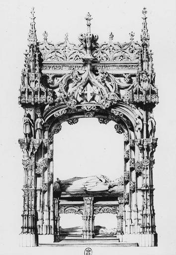 Tombeau de Marguerite d'Autriche, femme de Philibert le Beau