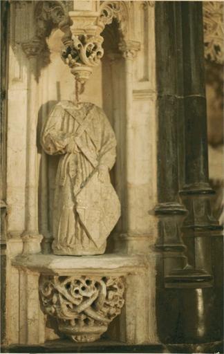 Retable de la chapelle de la Vierge