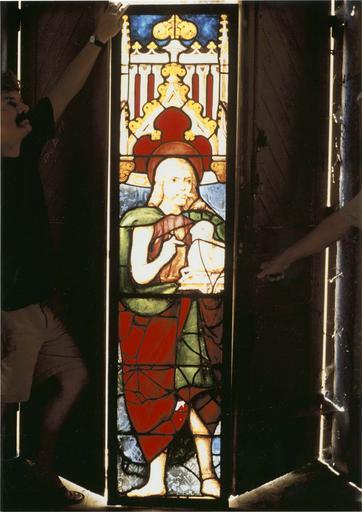 Verrière de saint Jean-Baptiste, 15e siècle, vue générale