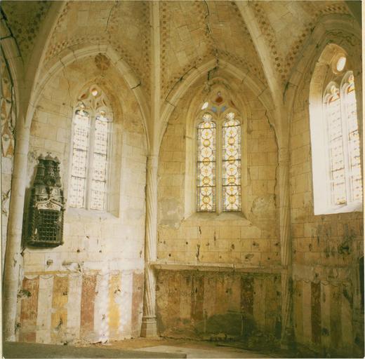 Peintures murales, détail de l'abside