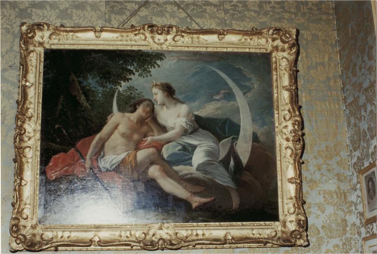 Tableau : Diane et Endymion, huile sur toile