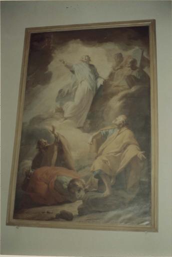 Tableau : La Transfiguration, huile sur toile par Brenet 1766