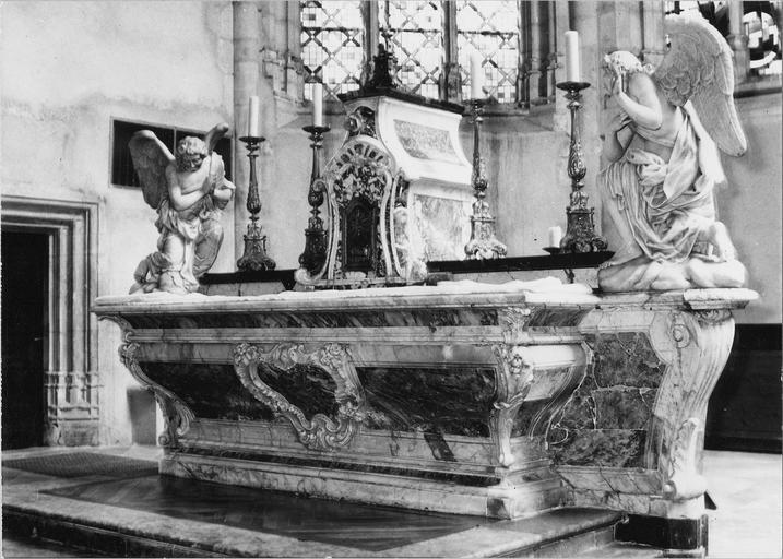 Autel, marbre, 18e siècle