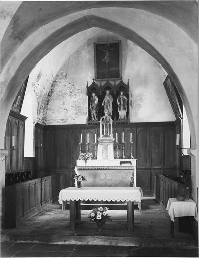 Choeur de l'église Saint-Laurent