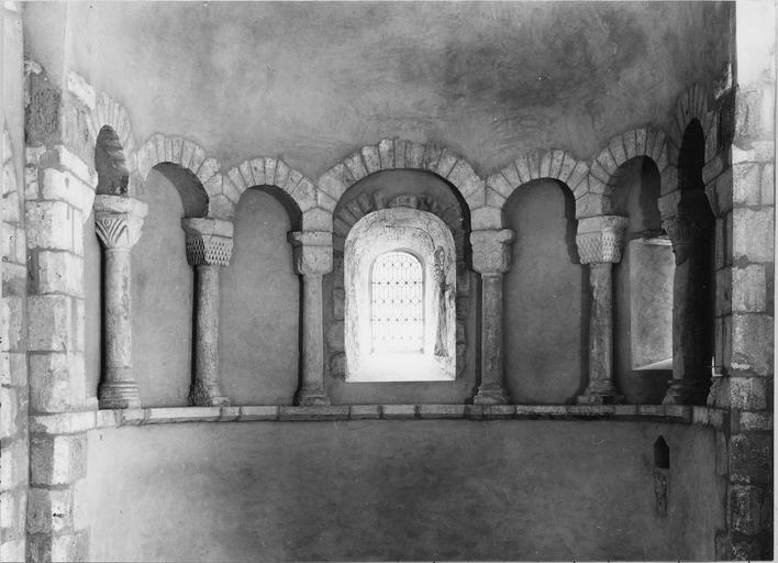 Abside du choeur de l'église de Saint-André-sur-Vieux-Jonc