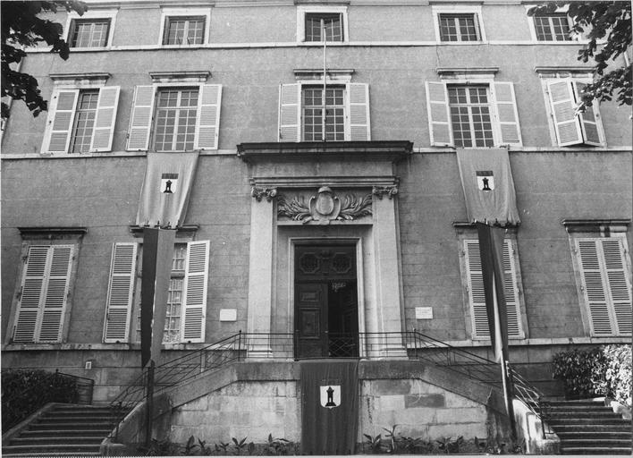 Façade Sud du Palais de Justice