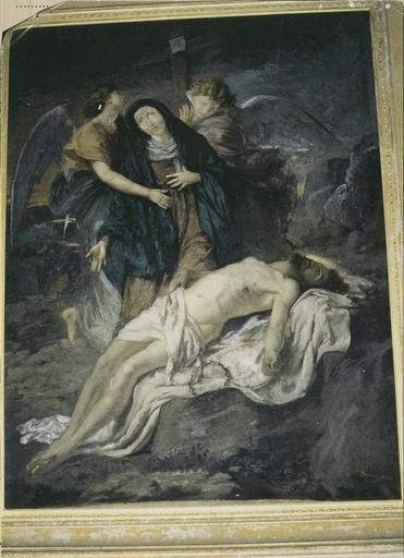 Tableau : la Déploration du Christ