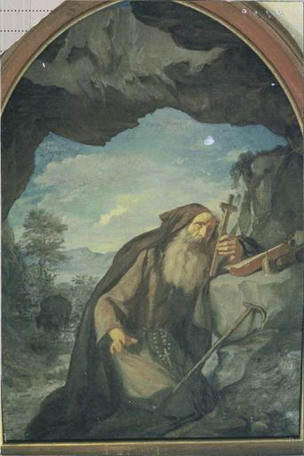 Tableau : Saint Antoine priant