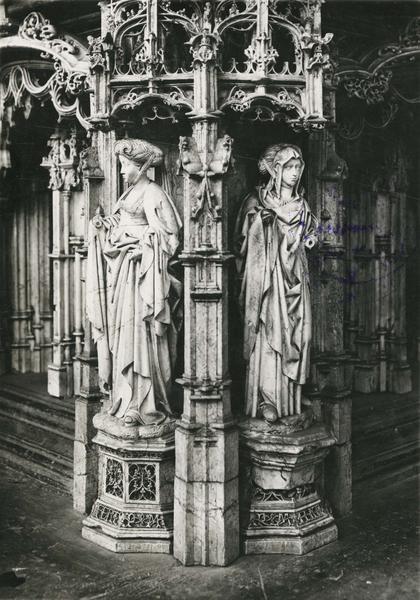 Tombeau de Philibert le Beau, duc de Savoie, vue partielle