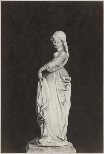Tombeau de Marguerite d'Autriche, femme de Philibert le Beau, détail