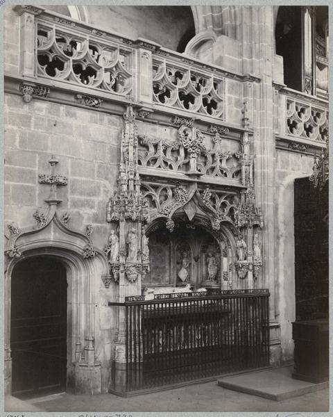 Tombeau de Marguerite de Bourbon, vue générale