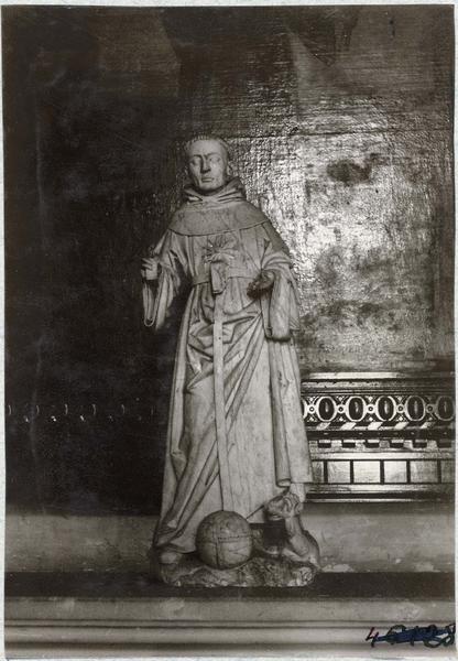 Statue : saint Nicolas de Tolentin