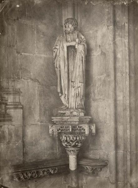 Statue, vue générale
