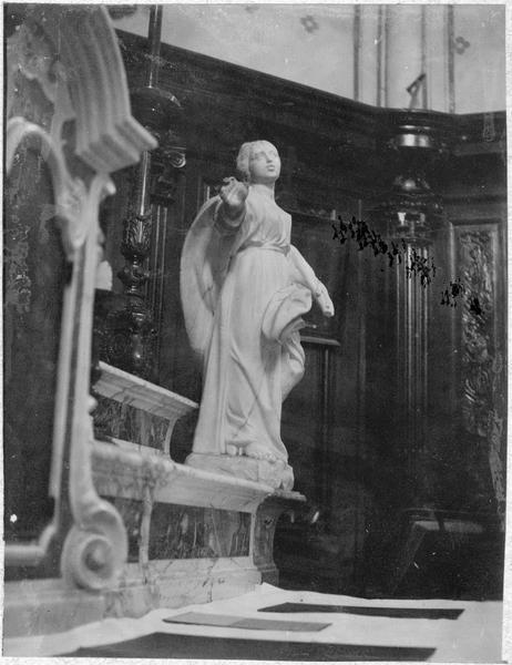 Autel (maître-autel), détail