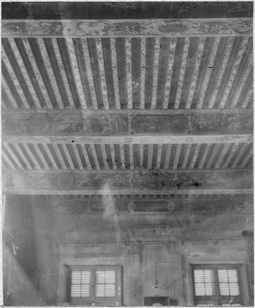 Plafond, vue générale