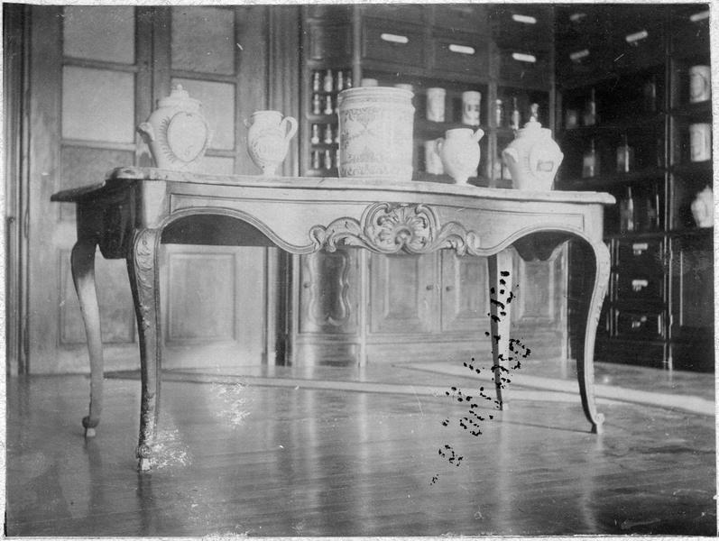 table, vue générale