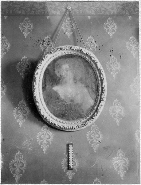 Tableau : portrait de Anne-Marie Louise d'Orléans duchesse de Montpensier, vue générale