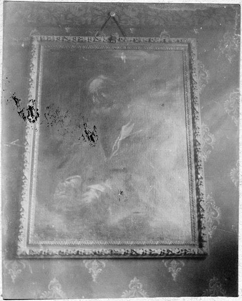 Tableau : scènes de sainteté non identifiée, vue générale