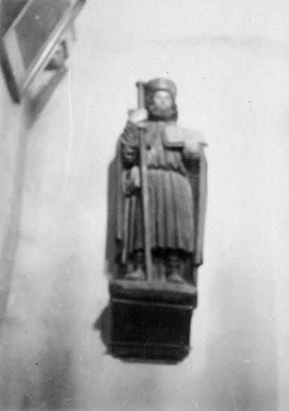 Statue : saint Jacques de Compostelle, vue générale