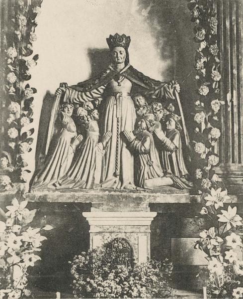 Groupe sculpté : Notre-Dame-de-Consolation, vue générale