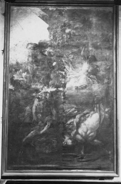 tableau : La Conversion de saint Paul, vue générale