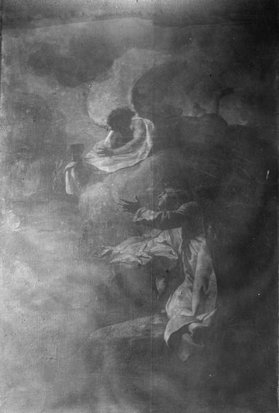 Tableau : Le Christ au Jardin des Oliviers, vue générale
