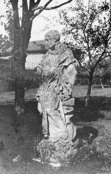 Statue : saint Bruno, vue générale