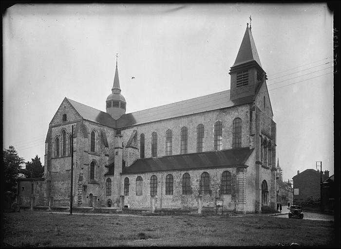 Eglise Notre-Dame et la crypte